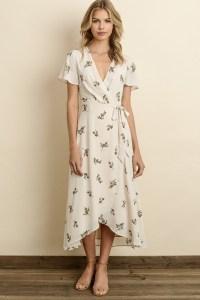 flattering dress style
