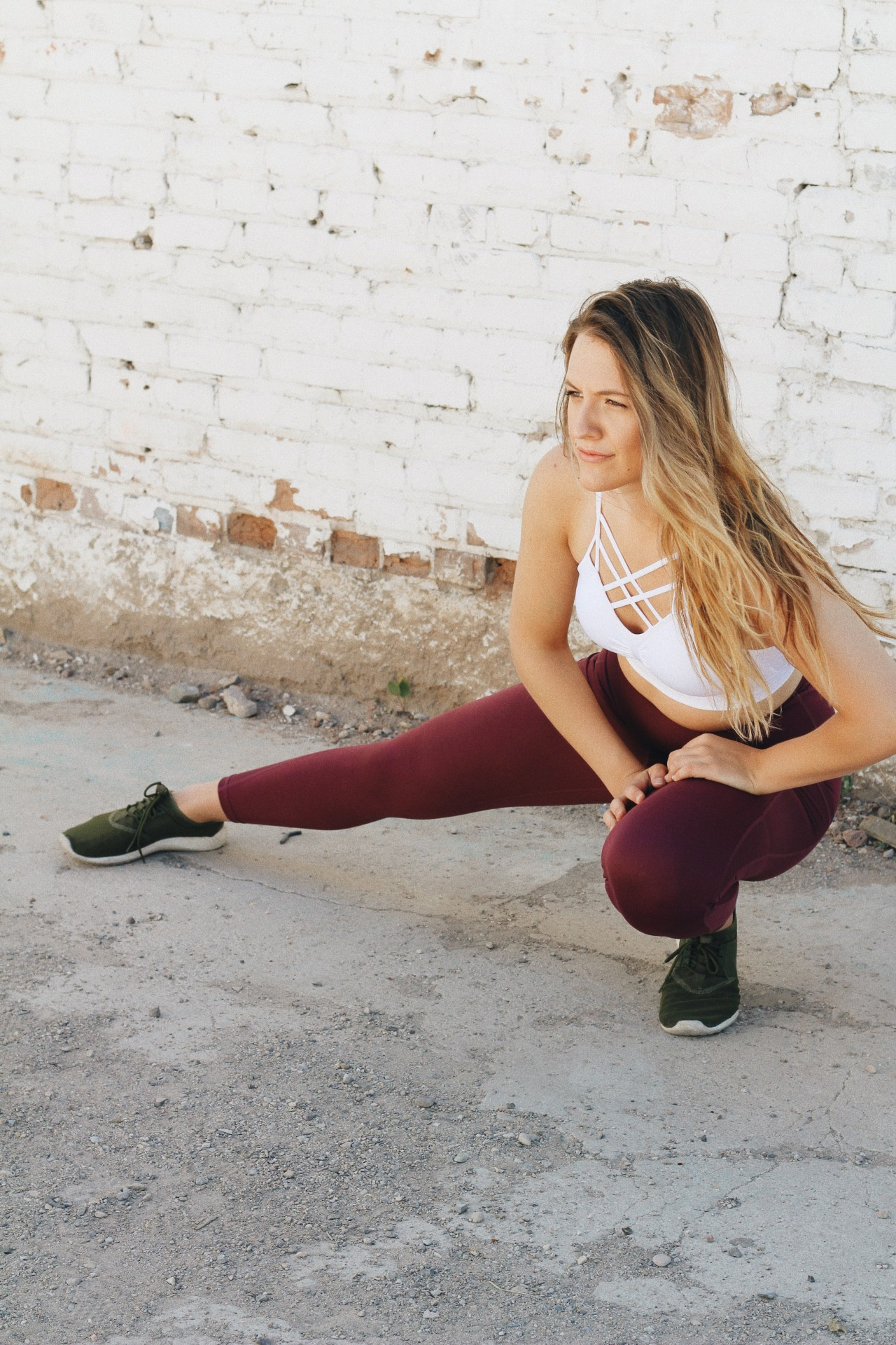 trained like blake lively for a month tone up with don saladino stretching
