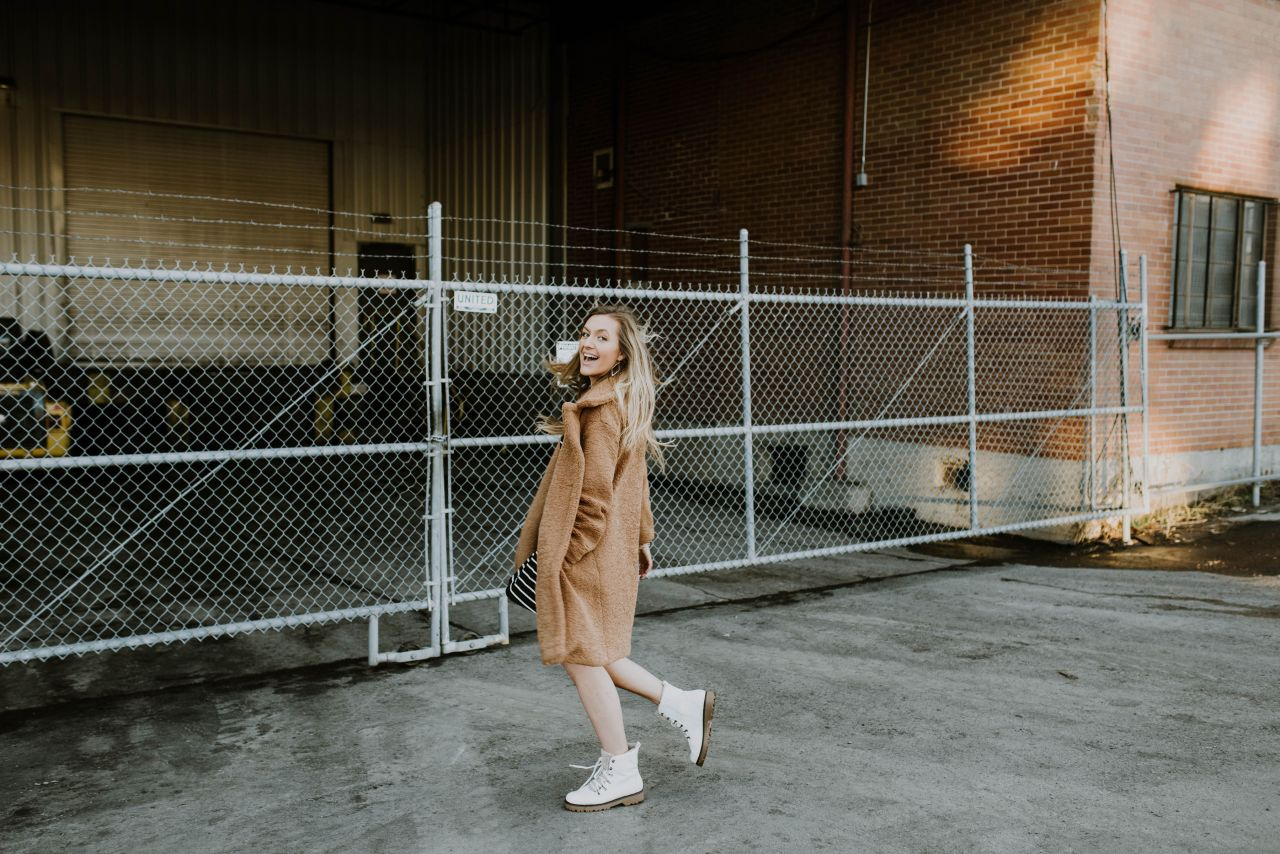 How to Manifest Your Dreams (And Make It Fun) teddy coat