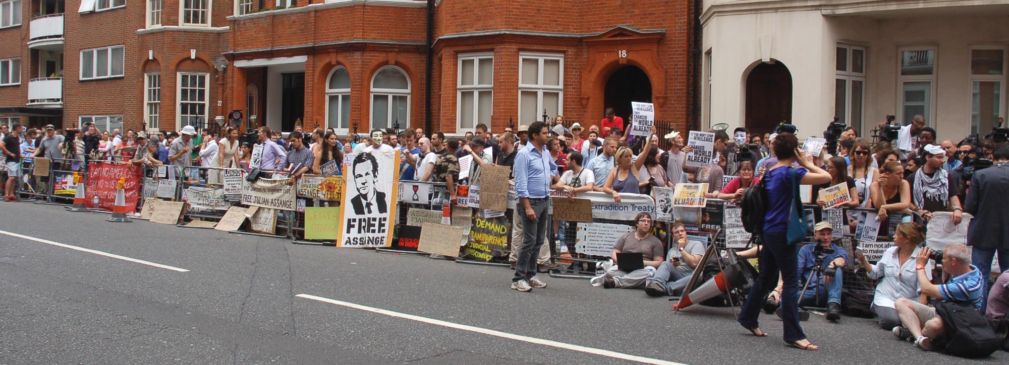 est100 一些攝影(some photos): Julian Assange 亞桑傑/ 阿桑奇