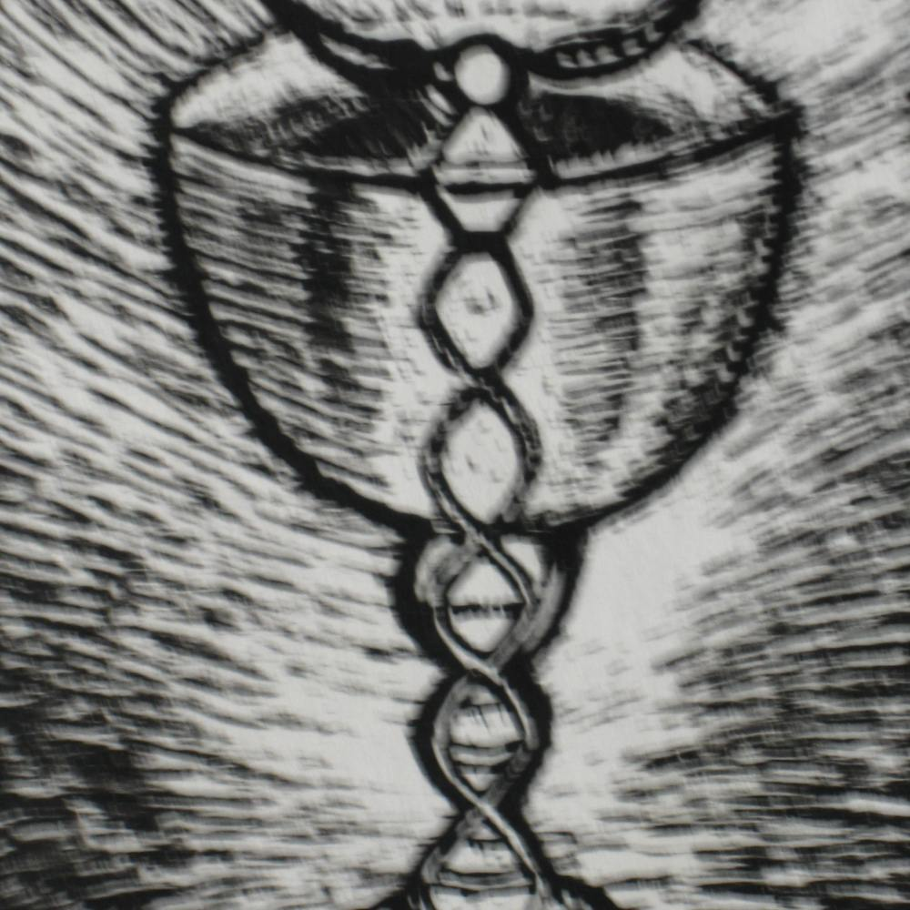 Drawing of the Chalice of the Divine Marriage