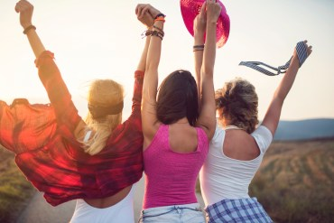 Girlfriends supporting each other: Wise Women Canada
