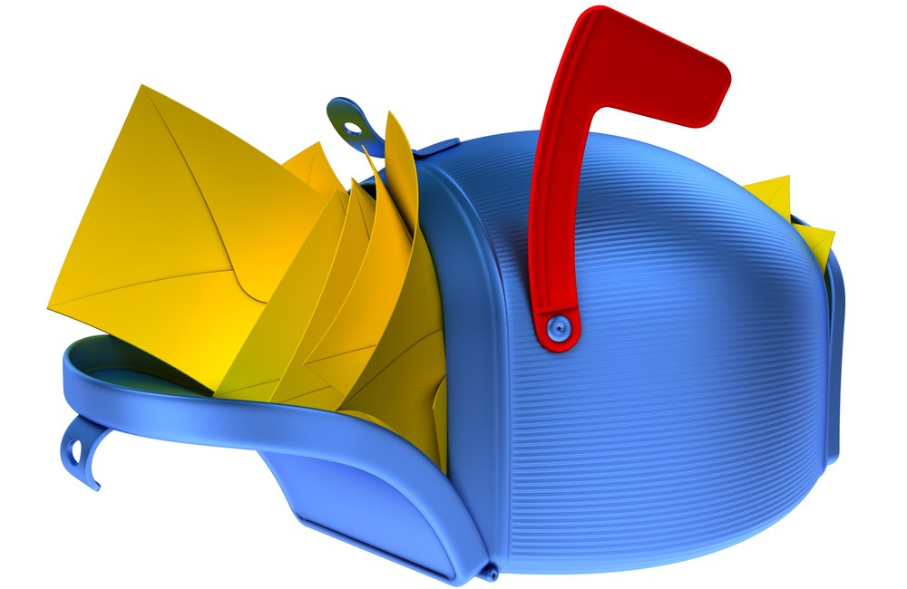 overflowing mailbox email content marketing