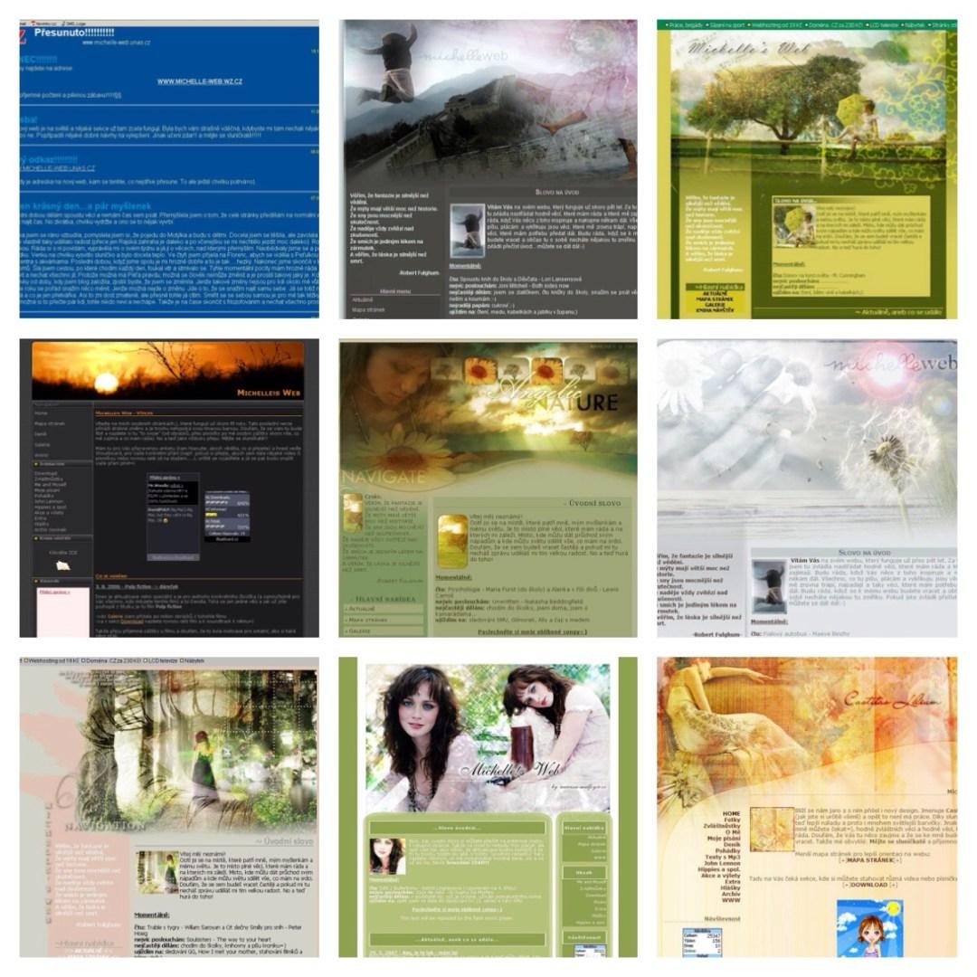 webové designy