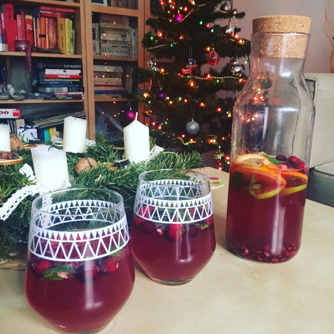 Vánoční punč z proseccem