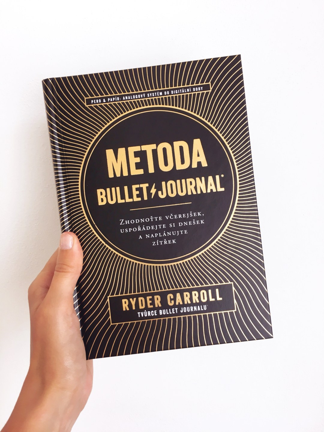 kniha Metoda Bullet Journal
