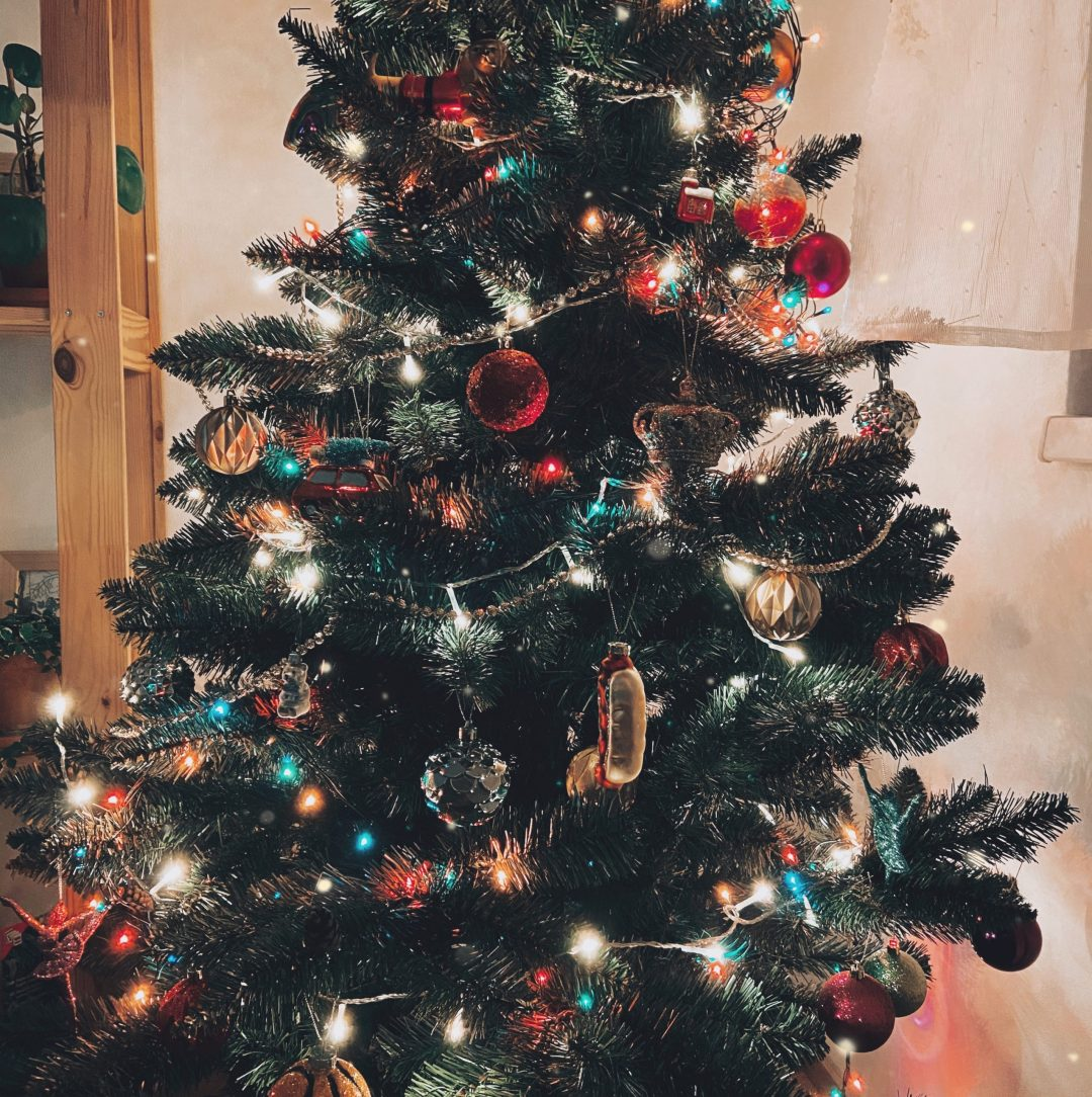 ozdobený vánoční stromek