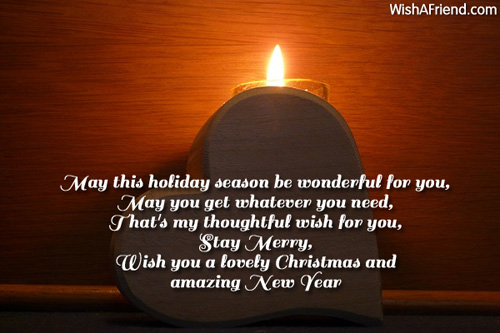 May This Holiday Season Be Wonderful Christmas Messages