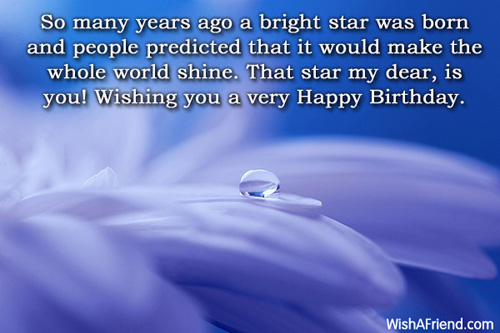 Inspirational Birthday Messages Page 1