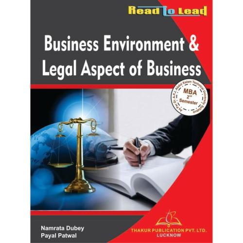 business environment legal aspect of business