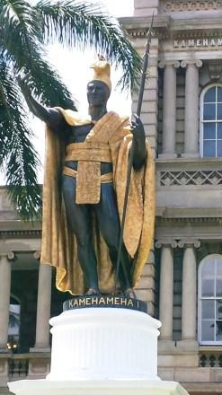 King Kamehameha I, Honolulu