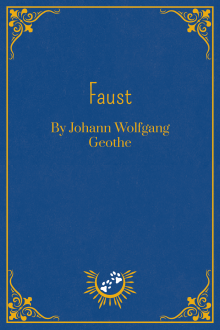 Book Cover of Faust, by Johann Wolfgang Goethe