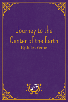 Book Cover of Journey to the Center of the Earth, by Jules Verne