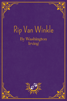 Book Cover of Rip Van Winkle, by Washington Irving