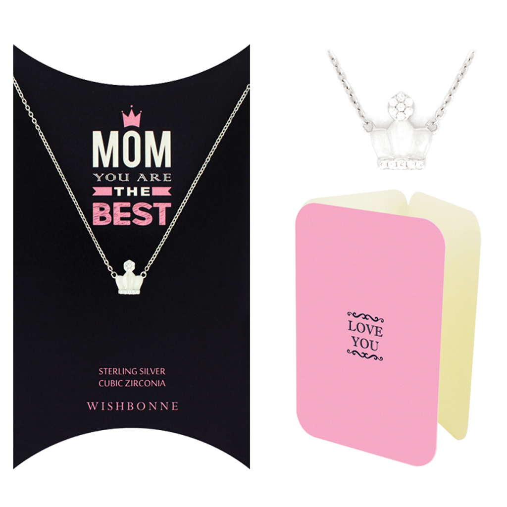 Mom Crown Necklace