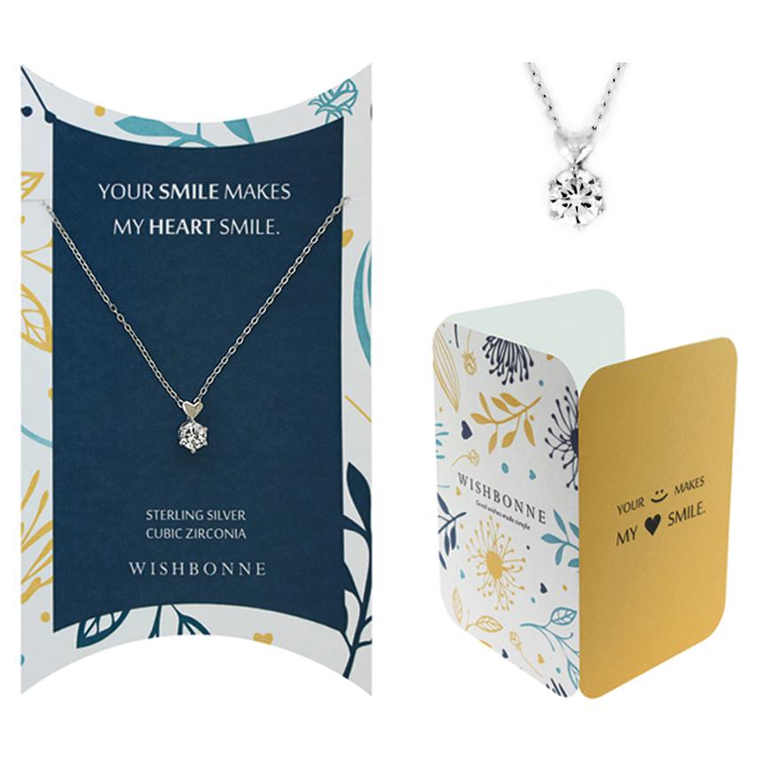Positive Positive Infinity Heart Necklace