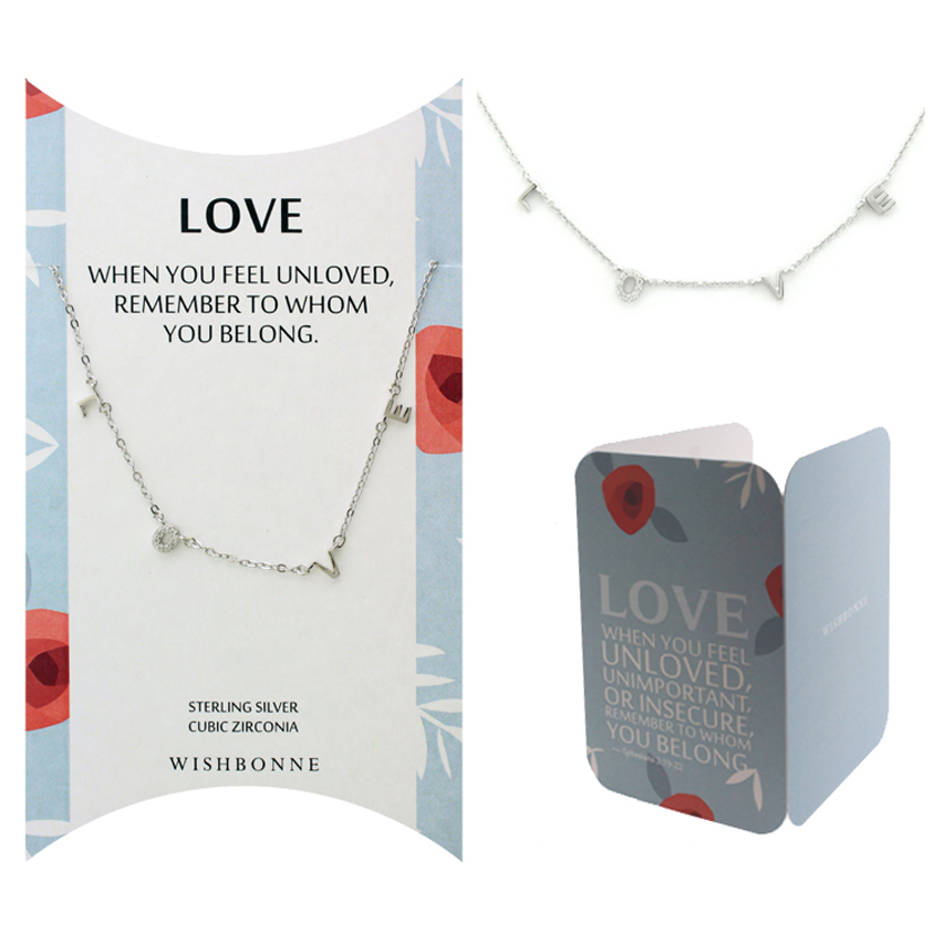 Biblical Love Letter Necklace