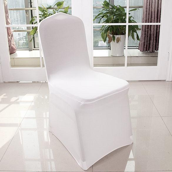 chair covers wish teal banquet white polyester spandex cover wedding party 100pcs package content 100 x
