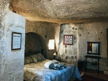 отель в пещере каппадокия