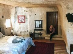 каппадокия отель в пещере