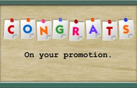 Congratulations Wishes On Promotion