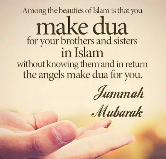 dua jumma mubarak in English