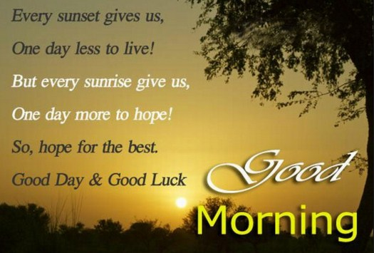good morning wishes and