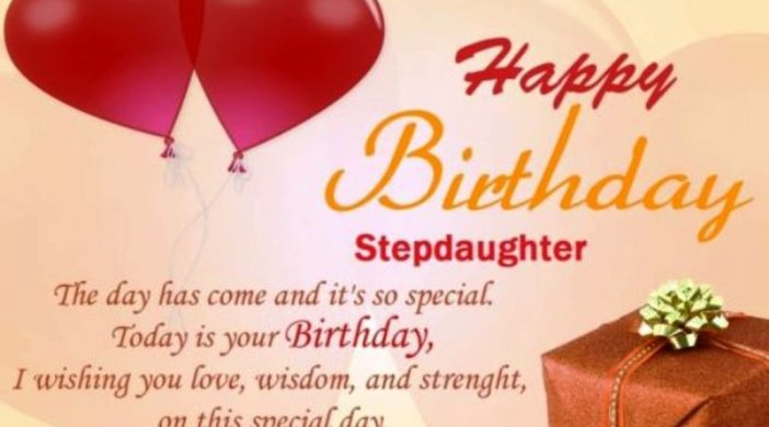 Birthday Wishes For Stepdaughter