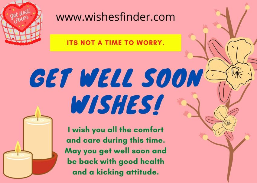 Get Well Soon Wishes For All