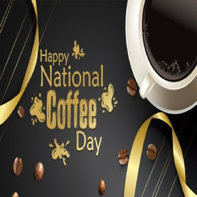 Happy National Coffee Day Greeting Cards