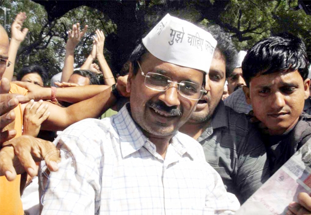 Arvind Kejriwal demands accountability from Delhi Police