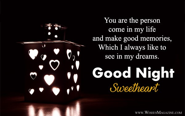 Good Night Wishes For Husband Wife