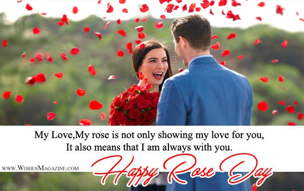 Happy Rose Day Wishes For Girlfriend Boyfriend