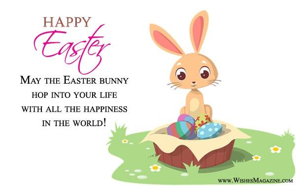 Cute Sweet Easter Bunny Card