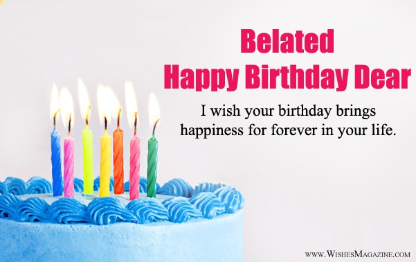 Belated happy birthday wishes belated birthday messages belated happy birthday wishes messages m4hsunfo