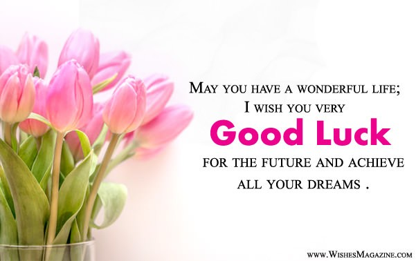 best wishes for future