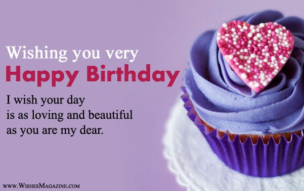 birthday wishes messages for