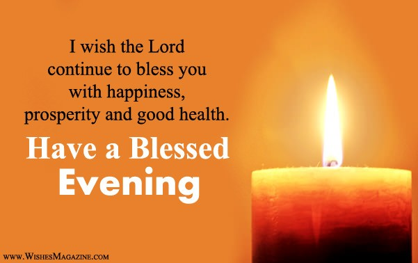 Religious Good Evening Wishes Messages