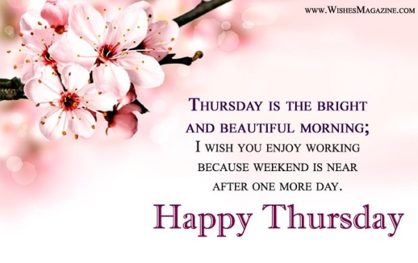 Happy thursday messages thursday morning wishes m4hsunfo
