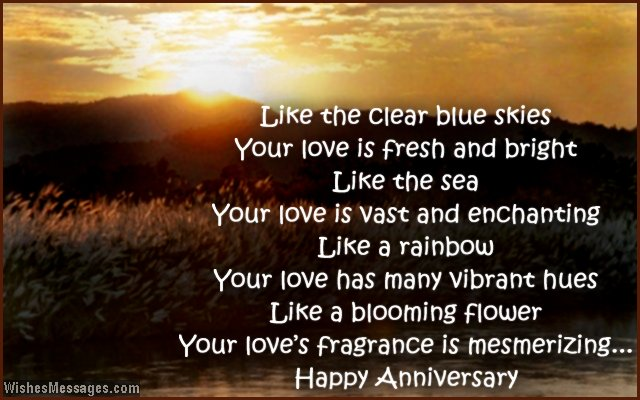 first anniversary wishes for