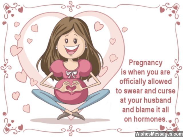 Funny Pregnancy Wishes: Humorous Messages On Getting