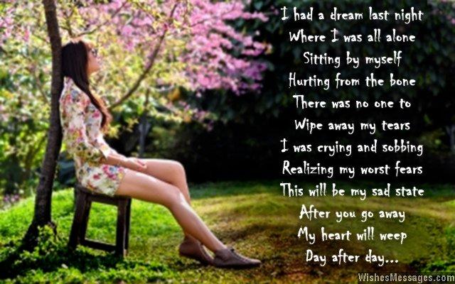 Goodbye Poems For Boyfriend Page 2