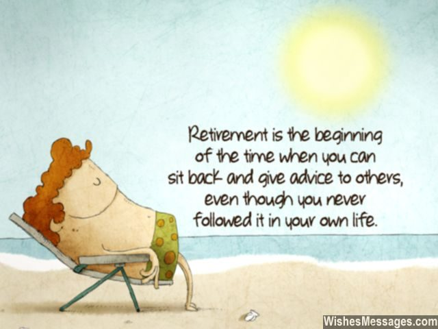 funny retirement wishes humorous