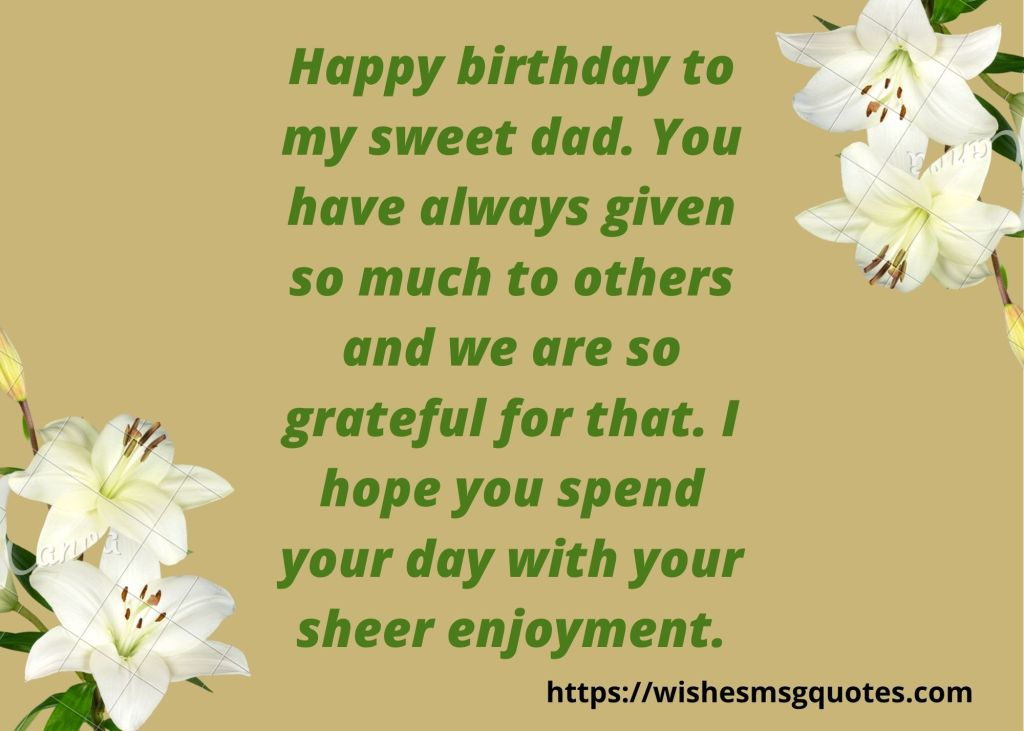 Funny Birthday Quotes for Father