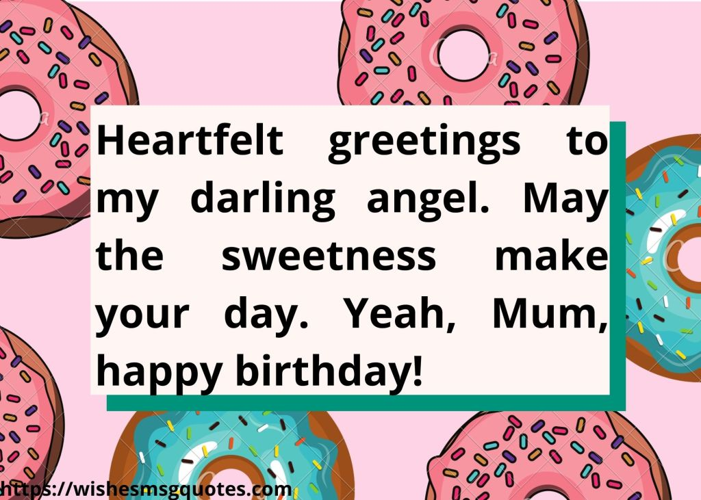 Birthday Quotes For Mother From Son