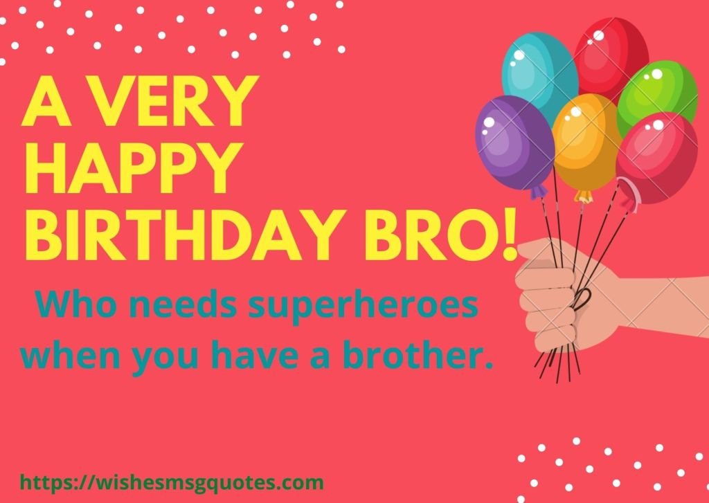 Inspirational Birthday Messages For Bro