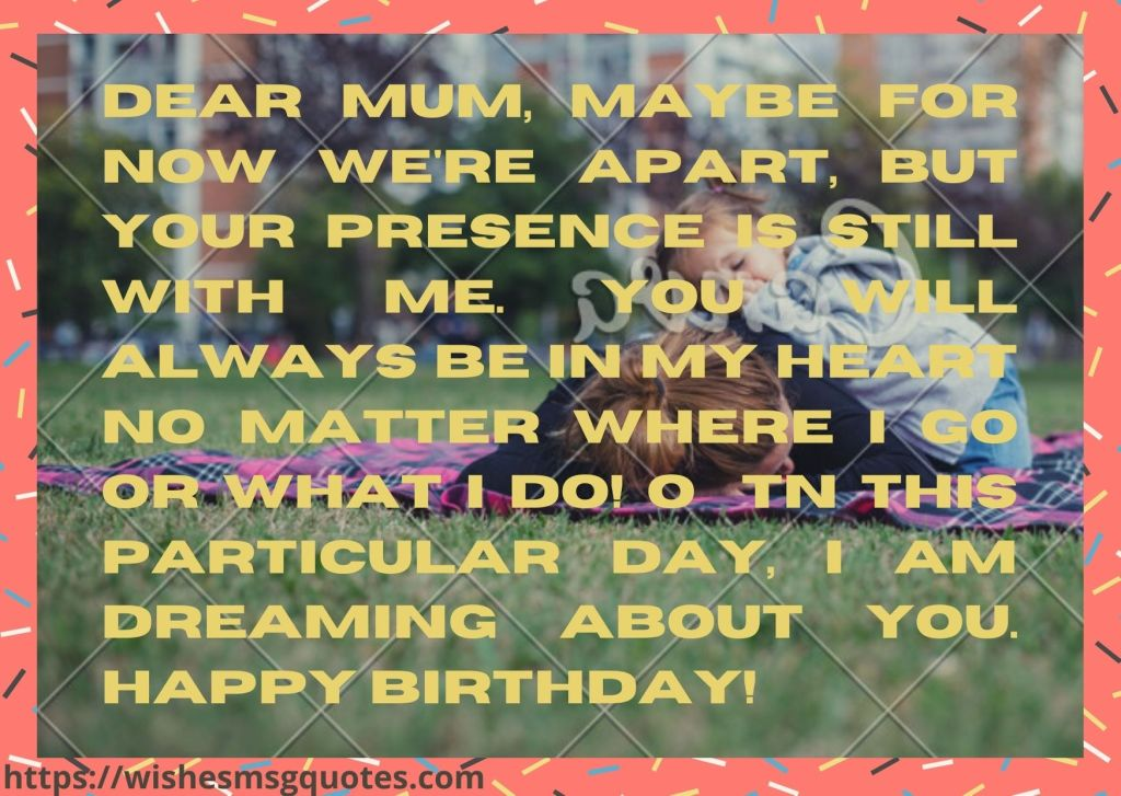 Inspirational Birthday Wishes For Mother