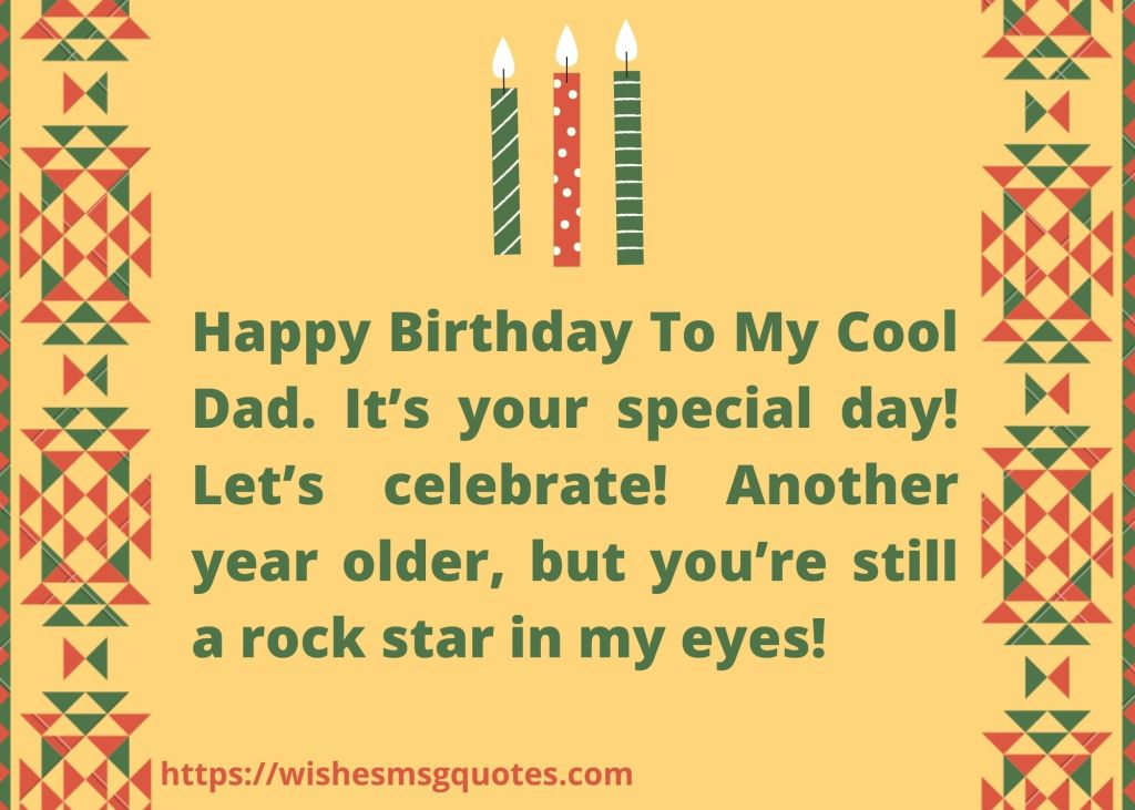 Inspirational Birthday Wishes for Father