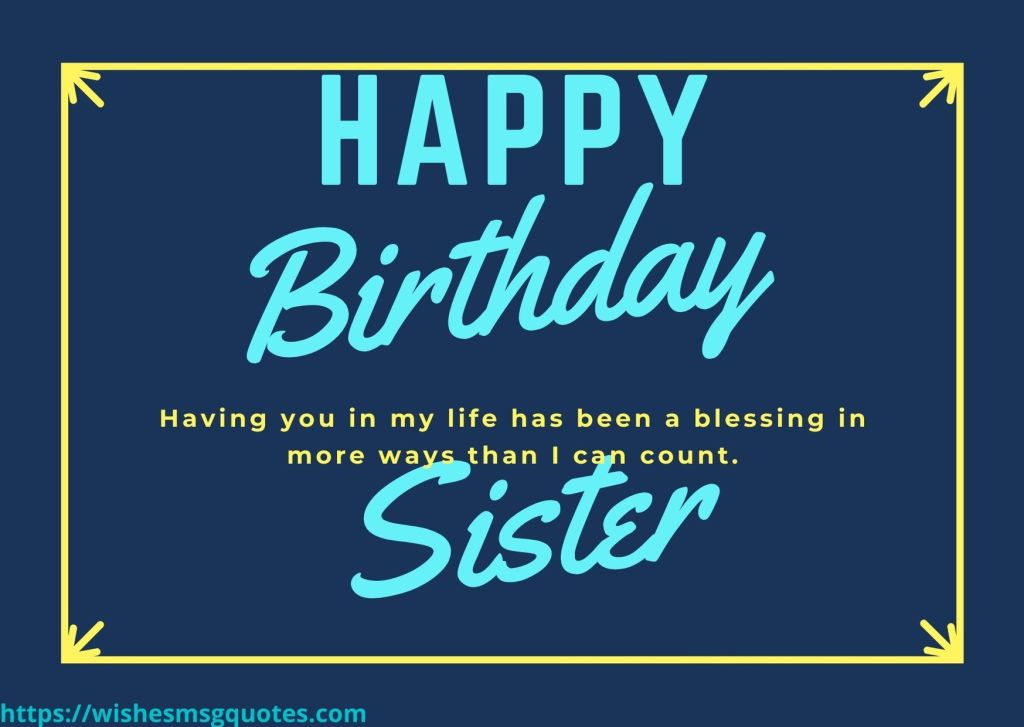 Inspirational Birthday Messages For Sis