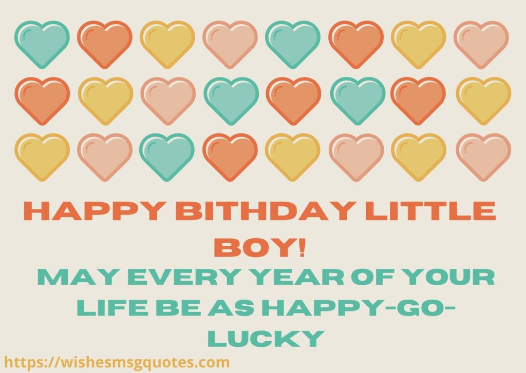 Cutest 1st Birthday Wishes For Baby Boy From Mother
